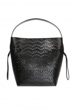 Perforated shopper bag od Alaia