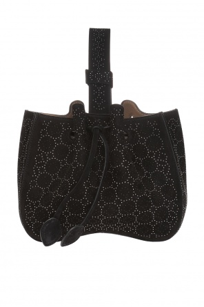 Hand bag with decorative elements od Alaia