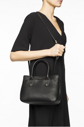 Metal logo shoulder bag od Furla