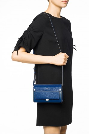 Embossed logo shoulder bag od Furla