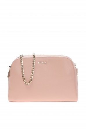 Triple-compartment bag with logo od Furla
