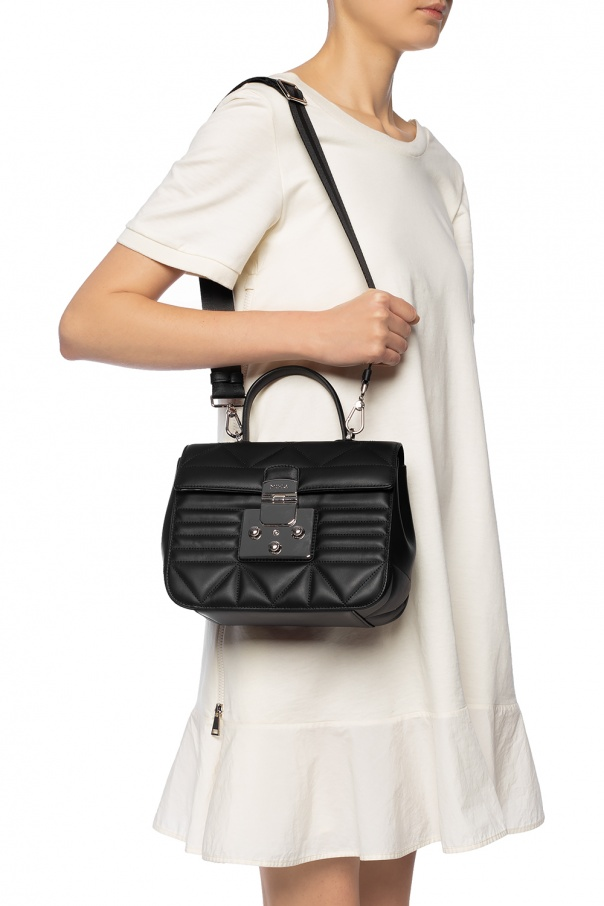 'fortuna' quilted shoulder bag od Furla