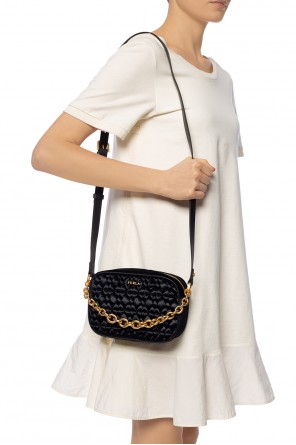 'cometa' quilted shoulder bag od Furla