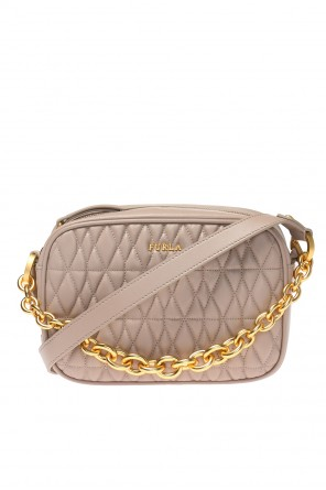 Quilted shoulder bag od Furla