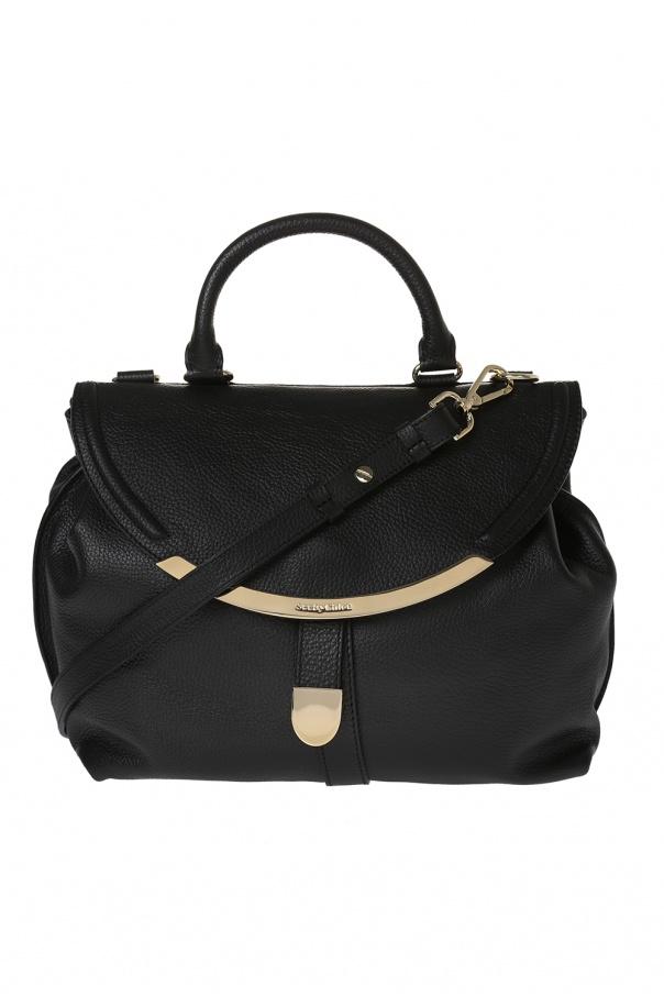 9cca1387b37a Lizzie  leather shoulder bag See By Chloe - Vitkac shop online