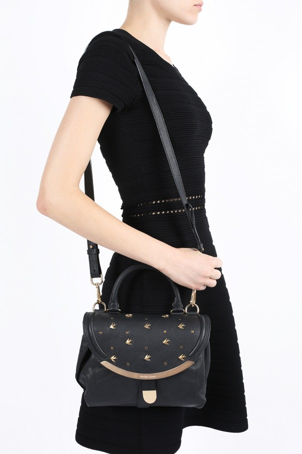 Lizzie  leather shoulder bag See By Chloe - Vitkac shop online 8ab59d03946