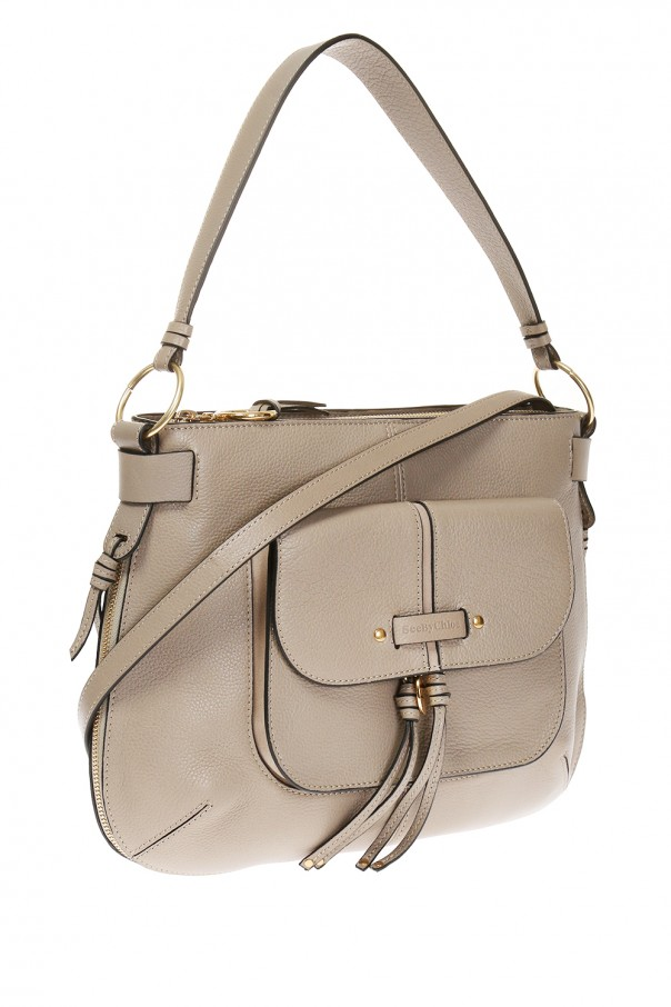 Leather shoulder bag od See By Chloe