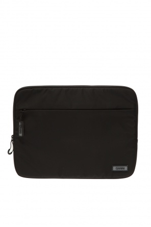 Laptop bag with logo od Ganni