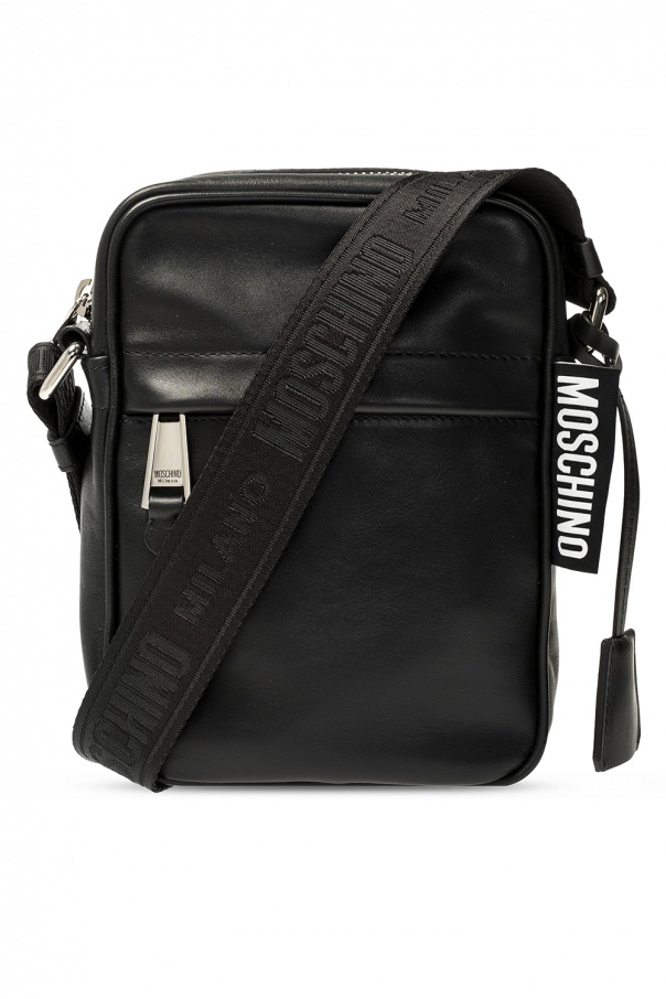 Moschino Logo-patched shoulder bag