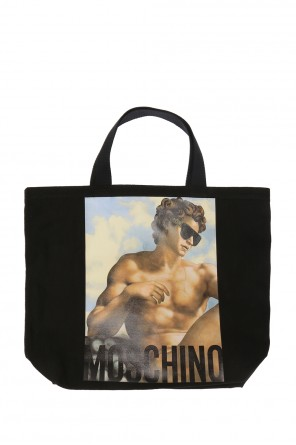 Printed shopper bag od Moschino