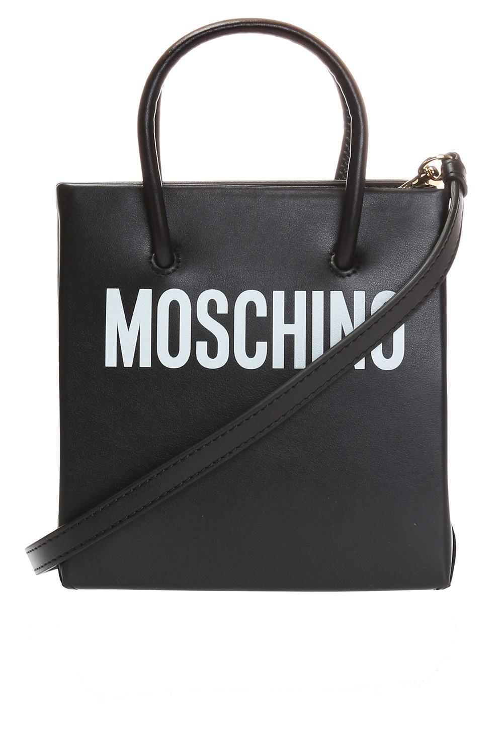 Moschino Logo-printed shoulder bag