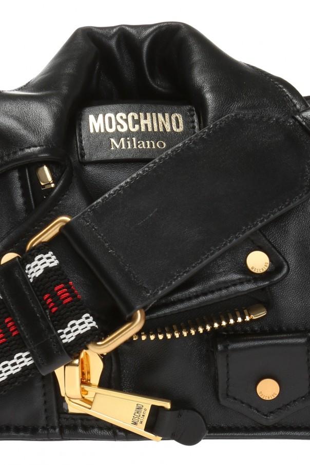 0c664f289 Biker jacket-motif shoulder bag Moschino - Vitkac shop online