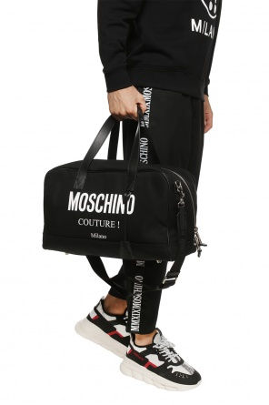 Logo-printed holdall od Moschino