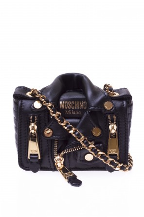 Leather crossbody bag od Moschino