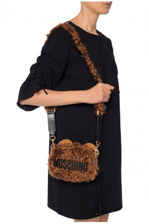 Shoulder bag with a bear motif od Moschino