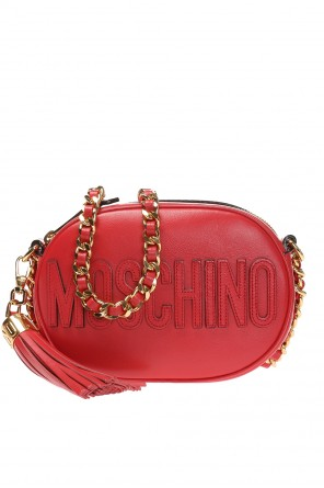 Oval crossbody logo bag od Moschino
