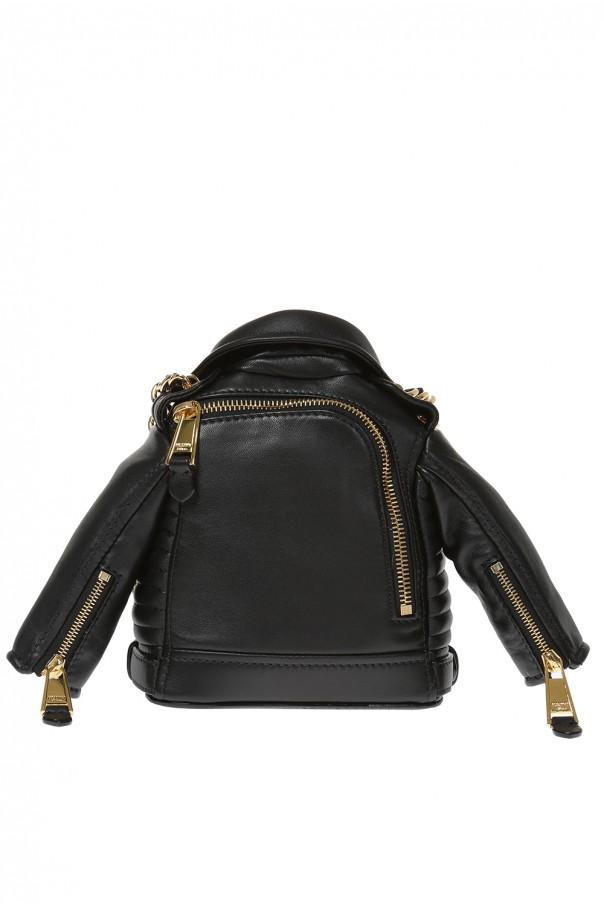 7fc751125 Biker jacket motif shoulder bag Moschino - Vitkac shop online