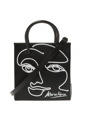 Shoulder bag with logo od Moschino