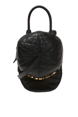 Quilted cap shoulder bag od Moschino