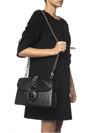 Quilted shoulder bag od Moschino