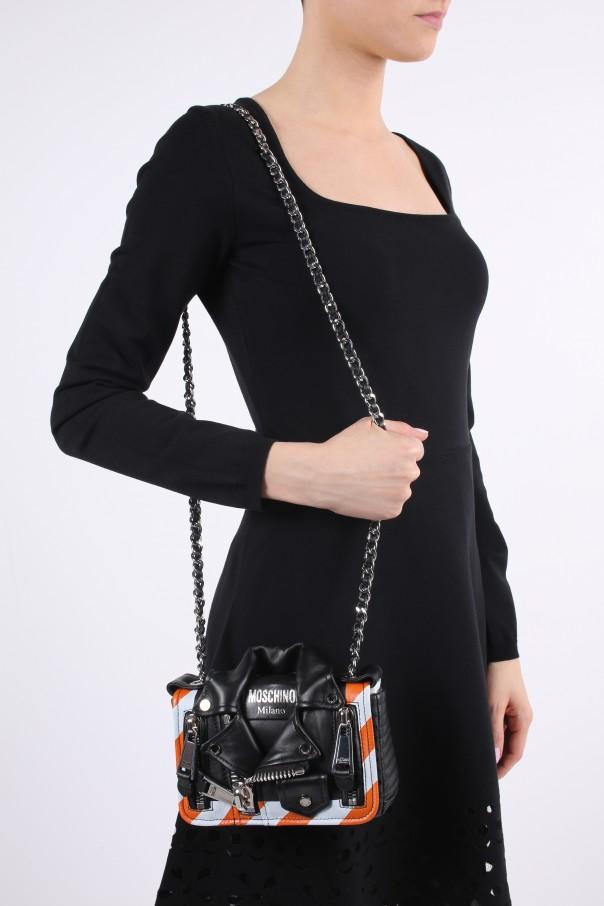 9d8acb63c Leather Shoulder Bag Moschino - Vitkac shop online