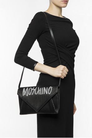 Logo shoulder bag od Moschino