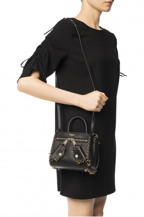 Two-compartment shoulder bag od Moschino