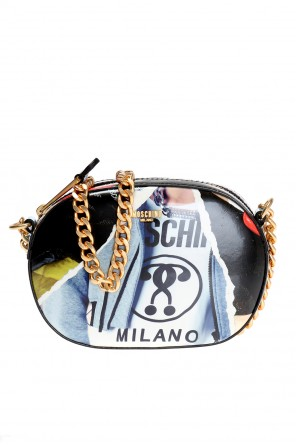 Patterned shoulder bag od Moschino