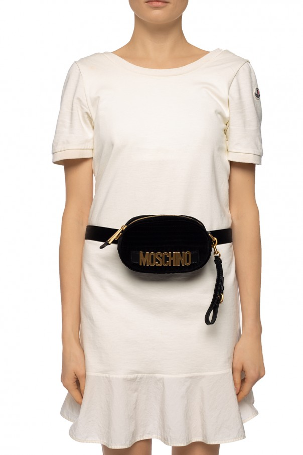 'marsupio' branded belt bag od Moschino