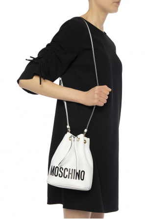 Shoulder bag with logo od Moschino