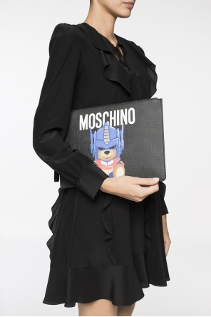 Printed clutch od Moschino