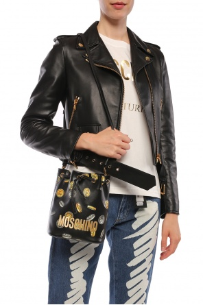 Branded shoulder bag od Moschino