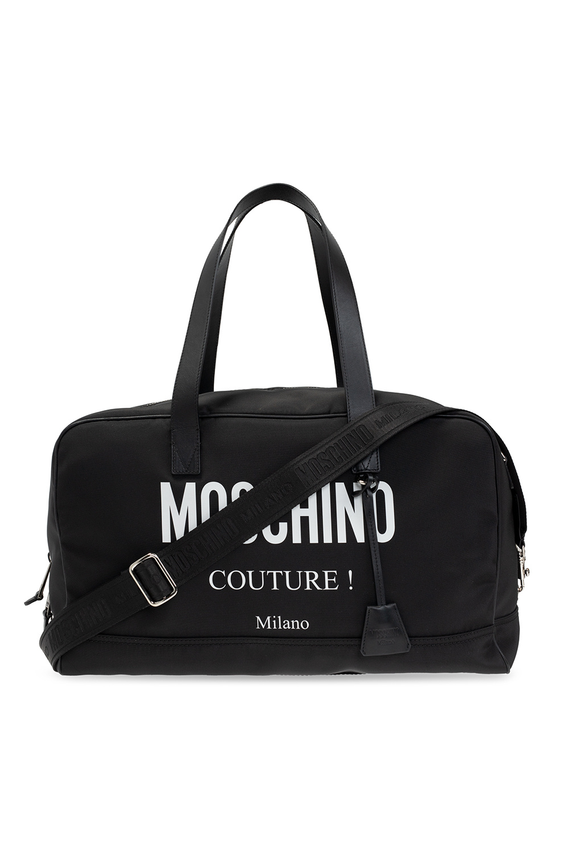 Moschino Duffel bag with logo