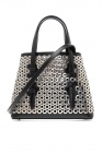 Alaia Embellished shoulder bag
