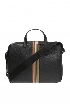 Shoulder bag with striped webbing od Paul Smith