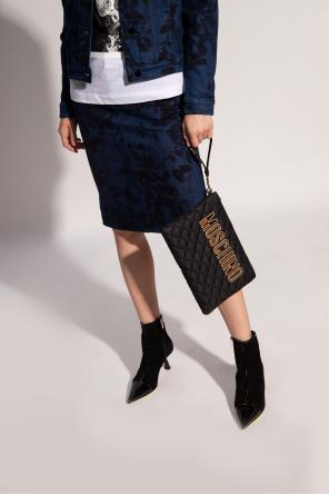 Handbag with logo od Moschino
