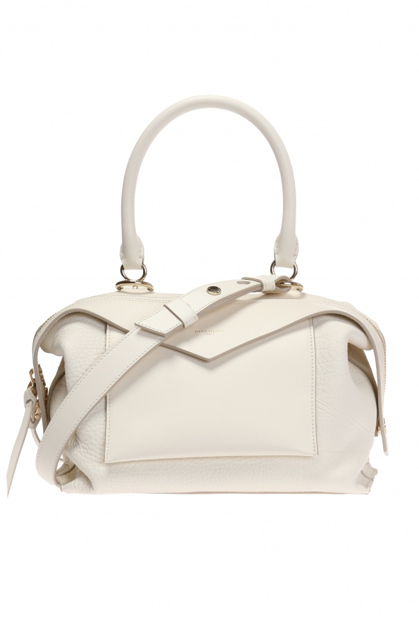 58de32f341 Givenchy Sway Satchel. Givenchy Sway Small Leather Shoulder Bag - SDRE