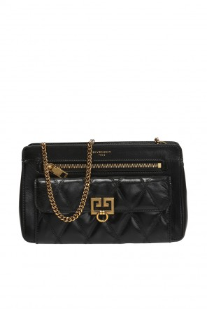 Shoulder bag with a quilted pocket od Givenchy