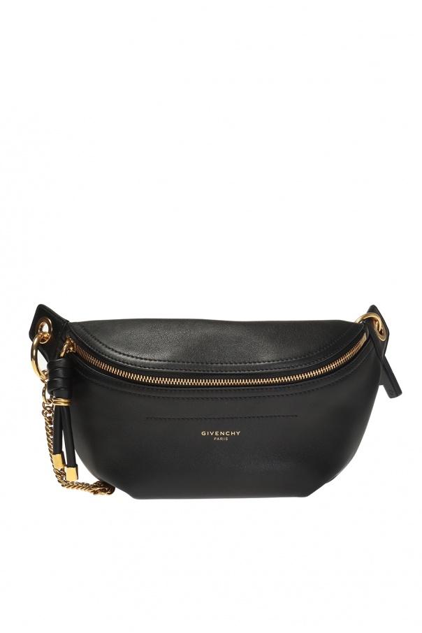 c96d17e02e6ef Leather belt bag with logo Givenchy - Vitkac shop online