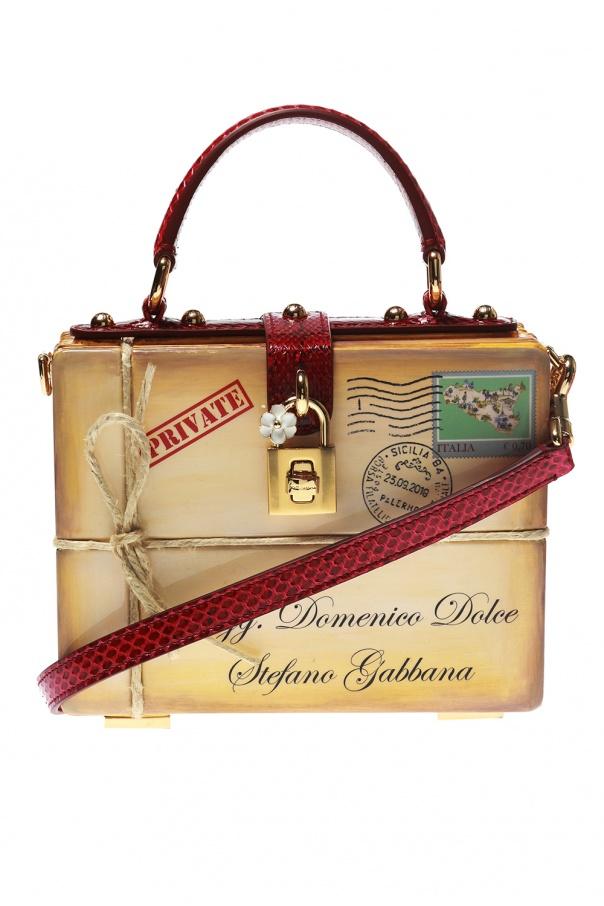 0d42adbc08da Box  printed shoulder bag Dolce   Gabbana - Vitkac shop online