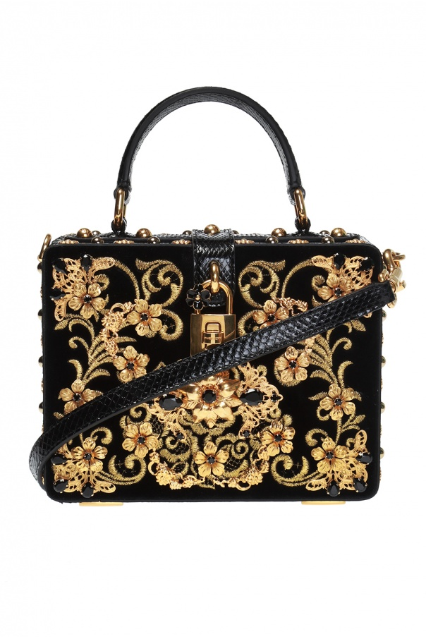 Box  embellished shoulder bag Dolce   Gabbana - Vitkac shop online 5ab29f445cfd8