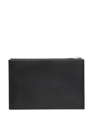 Branded leather clutch od Givenchy