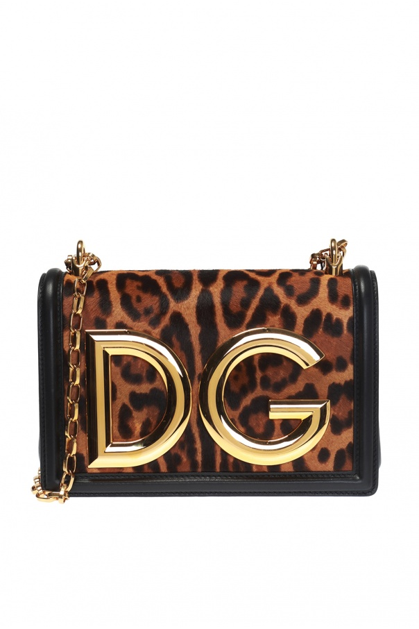 DG Girls  shoulder bag with metal logo Dolce   Gabbana - Vitkac shop ... 3ce75b41fdcd7