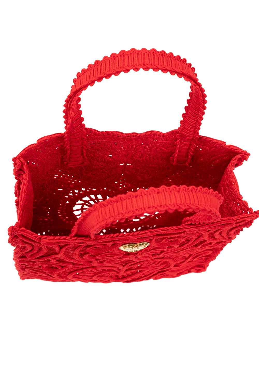 Dolce & Gabbana Logo-appliquéd handbag