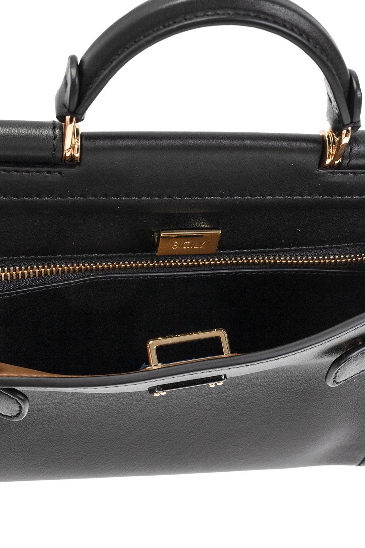 Dolce & Gabbana Logo-appliquéd shoulder bag