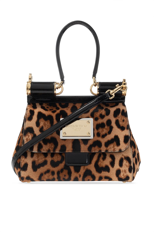 Dolce & Gabbana Animal-motif shoulder bag