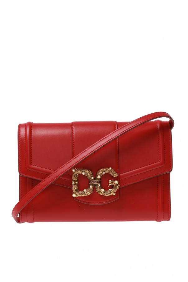 Dolce & Gabbana 'DG Amore' wallet on strap