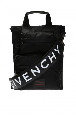 Shoulder bag with a patch and a logo od Givenchy