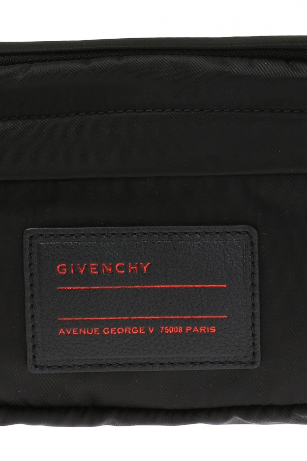 Waist bag with a patch and a logo od Givenchy