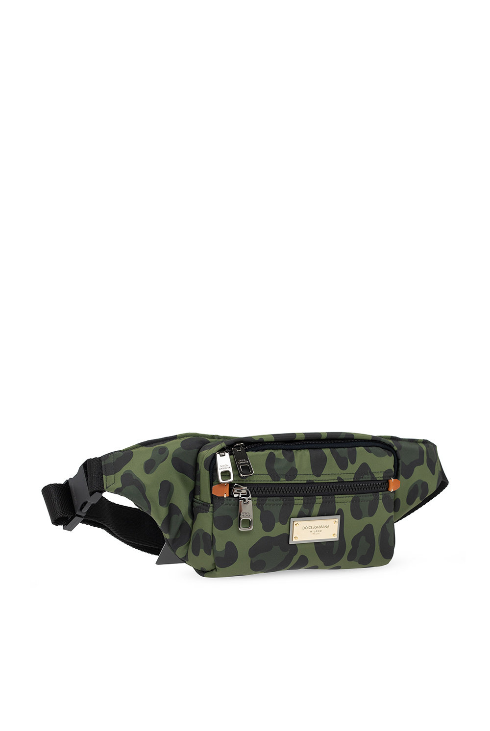 Dolce & Gabbana Logo-appliquéd belt bag